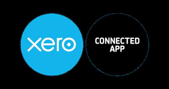 El logotipo recortado de la aplicación conectada xero contrata RGB 3