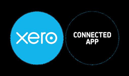 El logotipo de la aplicación conectada xero recortada contrata RGB 4