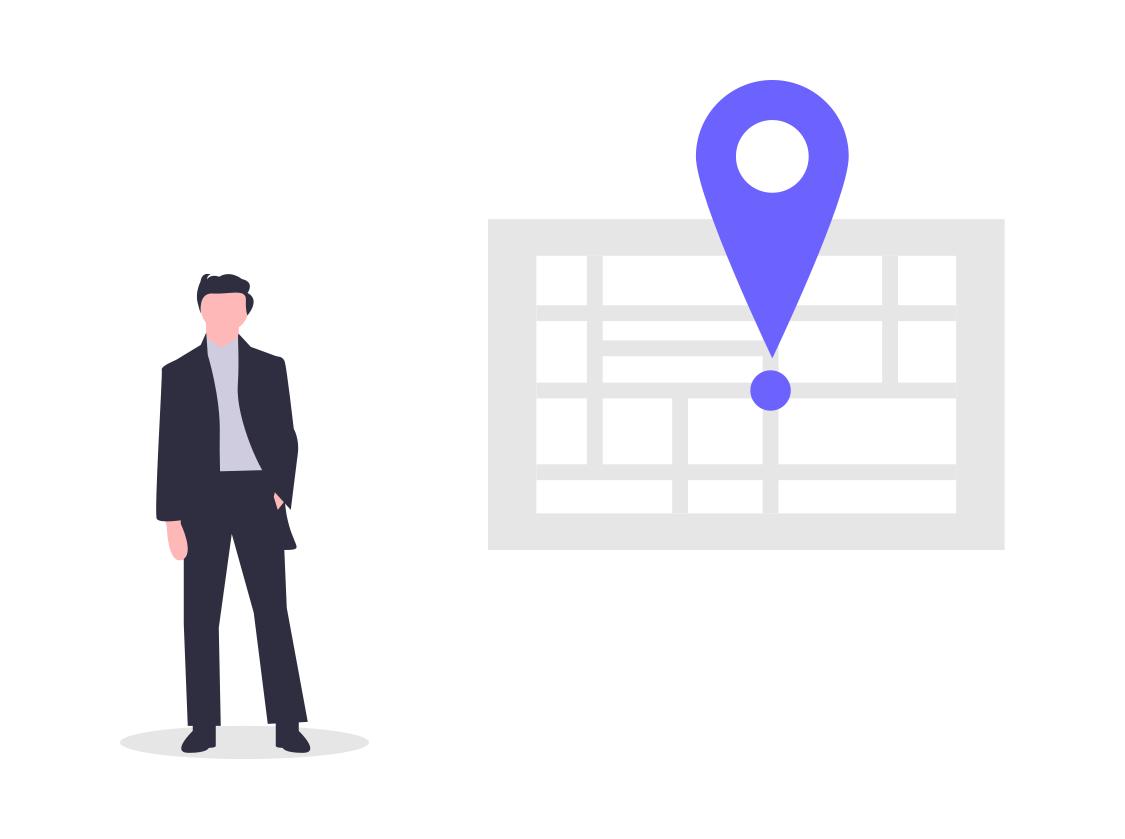 Identifique a sus representantes de ventas con datos de ubicación seguros y granulares