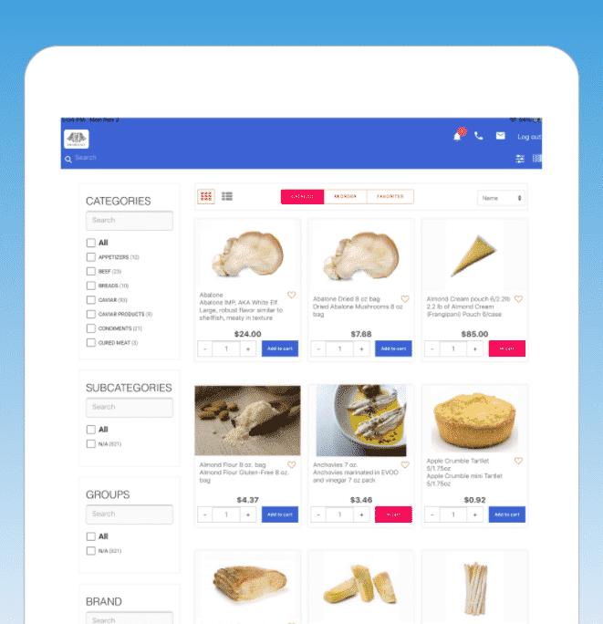 Catálogo de aplicaciones al por mayor B2B