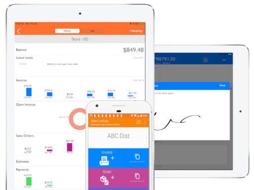 mobile invoice software