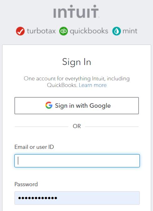 Quickbooks recortados se conectan
